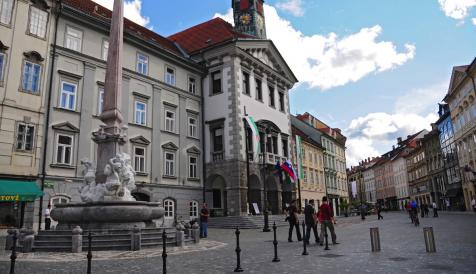 city of Ljubljana, Resalta